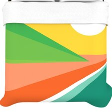 """Beach"" Woven Comforter Duvet Cover"