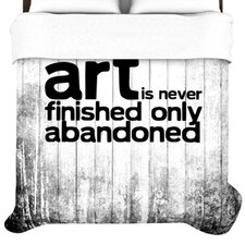 Art Never Finished Duvet Collection