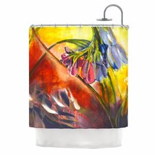 Progression Polyester Shower Curtain