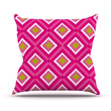 <strong>KESS InHouse</strong> Moroccan Tile Throw Pillow