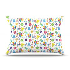 Fun Creatures Fleece Pillow Case