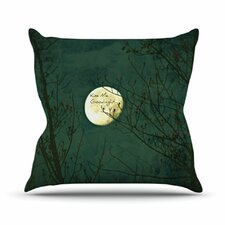Kiss Me Goodnight by Robin Dickinson Throw Pillow