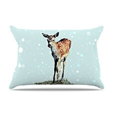 Fawn Fleece Pillow Case