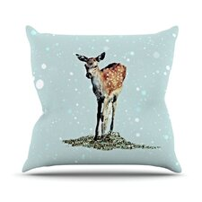 <strong>KESS InHouse</strong> Fawn Throw Pillow