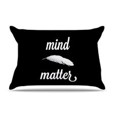 <strong>KESS InHouse</strong> Mind Over Matter Fleece Pillow Case