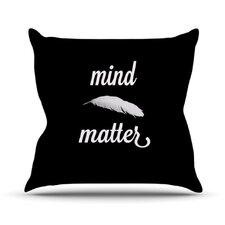 Mind Over Matter by Skye Zambrana Throw Pillow