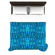 Variblue by Nina May Woven Duvet Cover