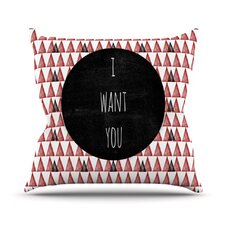 <strong>KESS InHouse</strong> I Want You Throw Pillow
