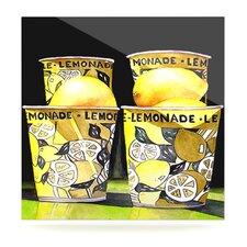 Lemonade by Rosie Brown Vintage Advertisement Plaque
