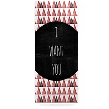 I Want You by Skye Zambrana Graphic Art Plaque