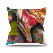 Glimpse by Kristin Humphrey Throw Pillow