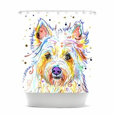 <strong>KESS InHouse</strong> Bella Polyester Shower Curtain