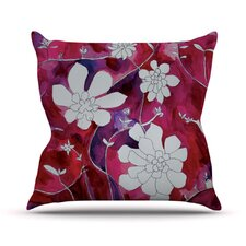 Succulent Dance II by Theresa Giolzetti Throw Pillow
