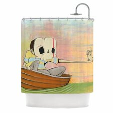 Drifting Polyester Shower Curtain