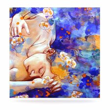 A Deeper Sleep by Kira Crees Painting Print Plaque