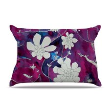 Succulent Dance III Fleece Pillow Case