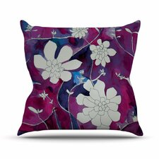 Succulent Dance III by Theresa Giolzetti Throw Pillow