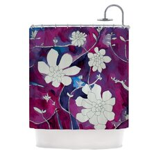 Succulent Dance III Polyester Shower Curtain