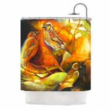 Reflecting Light Polyester Shower Curtain