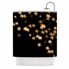 Twinkle Polyester Shower Curtain
