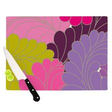 Moroccan Leaves Cutting Board