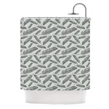 <strong>KESS InHouse</strong> Feather Scene Polyester Shower Curtain