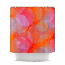 Six Polyester Shower Curtain