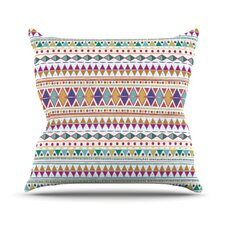 Native Fiesta Throw Pillow
