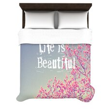 Life Is Beautiful Duvet Cover Collection