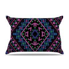 Neon Pattern Fleece Pillow Case