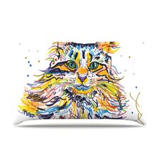 <strong>KESS InHouse</strong> Leo Fleece Pillow Case