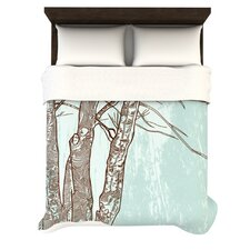 Winter Trees Duvet Cover Collection