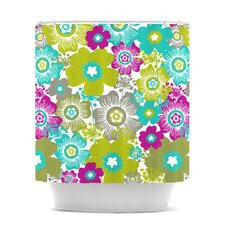 Little Bloom Polyester Shower Curtain