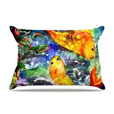 Fantasy Fish Fleece Pillow Case