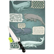 <strong>KESS InHouse</strong> Whale Talk Cutting Board