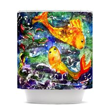 Fantasy Fish Polyester Shower Curtain