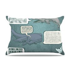 Whale Talk Fleece Pillow Case