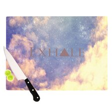 Exhale Cutting Board