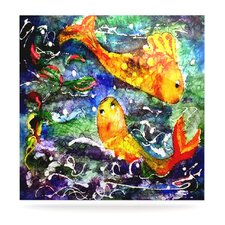 Fantasy Fish Floating Art Panel