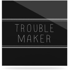 Trouble Maker Floating Art Panel