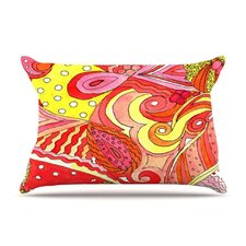 <strong>KESS InHouse</strong> Swirls Fleece Pillow Case