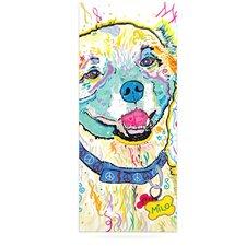 Milo by Rebecca Fischer Graphic Art Plaque