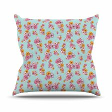 Paper Flower by Laura Escalante Throw Pillow