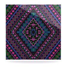 Neon Pattern by Nika Martinez Graphic Art Plaque