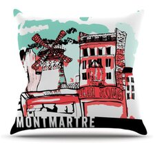<strong>KESS InHouse</strong> Montmartre Throw Pillow