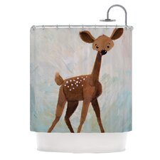 <strong>KESS InHouse</strong> Oh Deer Polyester Shower Curtain