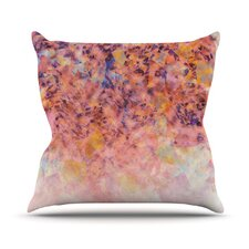 Blushed Geometric Throw Pillow