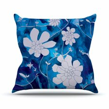 Succulent Dance 1 by Theresa Giolzetti Throw Pillow