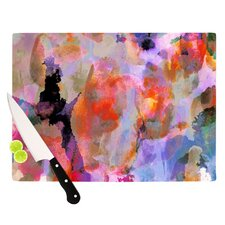 Painterly Blush Cutting Board