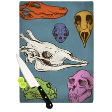 <strong>KESS InHouse</strong> Skulls Cutting Board